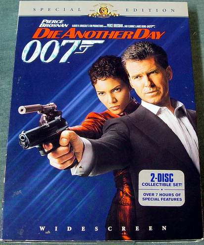 DIE ANOTHER DAY Widescreen Special Edition 2-Disc DVD Set