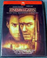 ENEMY At The GATES Widescreen DVD BRAND NEW SEALED Stalingrad WW2