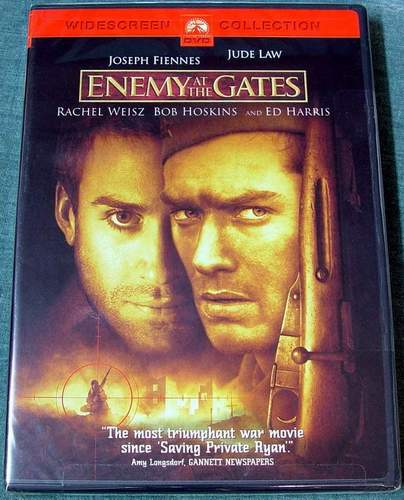Enemy at the Gates DVD Brand New Sealed in Shrink-Wrap