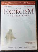 The Exorcism of Emily Rose: Special Edition Widescreen Theatrical Version DVD (2005)