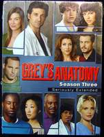 Grey's Anatomy - Season Three Seriously Extended 7-Disc Box Set Brand New Sealed in Shrinkwrap