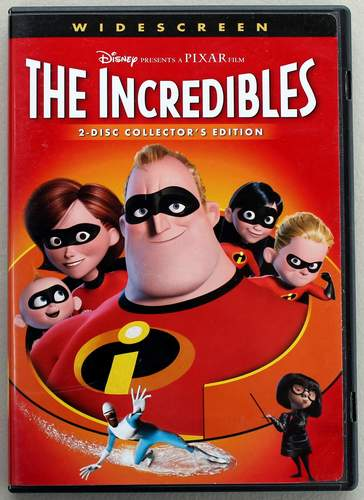 The Incredibles - a Disney PIXAR Film, Widescreen 2-Disc Collector's Edition 2005 DVD