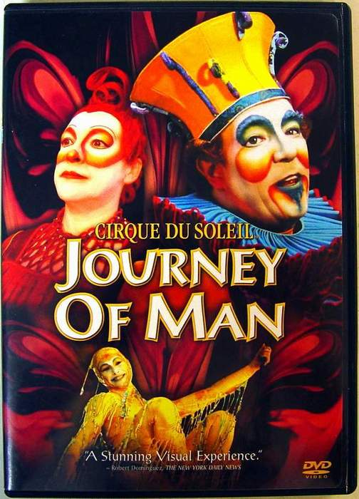 Cirque du Soleil - Journey of Man Full Screen Version DVD