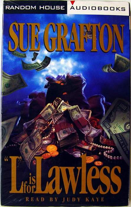 L Is for Lawless by Sue Grafton Abridged Audiobook on 2 Audio Cassettes