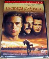 Legends of the Fall (Special Edition DVD) Starring Brad Pitt