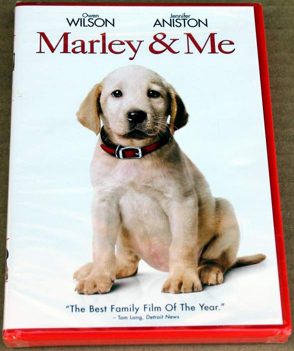 Marley and Me - Brand New Sealed DVD