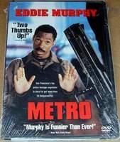 Metro (1997) Eddie Murphy, Kim Miyori Widescreen DVD