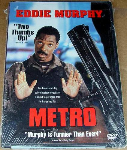 Metro (1997) Widescreen DVD Eddie Murphy, Kim Miyori