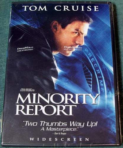 Minority Report Widescreen DVD 2-Disc Brand New Sealed in Shrink-Wrap