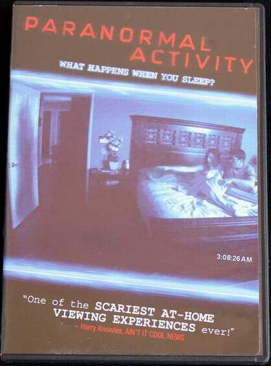 Paranormal Activity Starring Katie Featherston and Micah Sloat (2009)