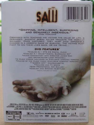 Saw (Full Screen Edition) (2004)