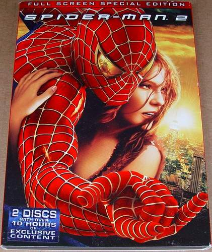 SpiderMan 2 Fullscreen Special Edition 2-DVD Set