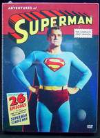 The Adventures of Superman The Complete First Season Deluxe 5-Disc DVD Set with exciting extras