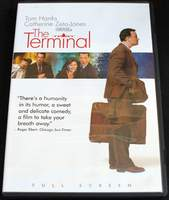 The Terminal (Full Screen Edition) Starring Tom Hanks, Catherine Zeta-Jones, Stanley Tucci, et al. (2004) BRAND NEW SEALED