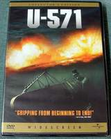 U-571 Widescreen Collector's Edition DVD Brand New Sealed in Shrink-Wrap