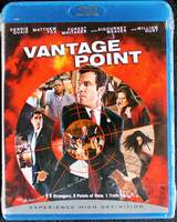 Vantage Point on Blu-ray (2008) Brand New Sealed