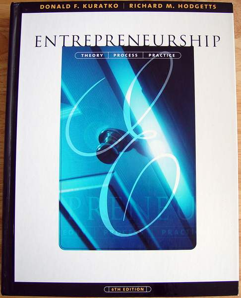ENTREPRENEURSHIP Theory, Process, Practice 6th Edition