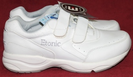 Etonic Women's Trans Am DRX810 Walking Shoe White Size 10EE NEW with 3M Scotchlite Reflective Material on back and logos