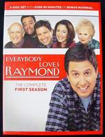 Everybody Loves RAYMOND The Complete First Season, 5 Disc DVD Set