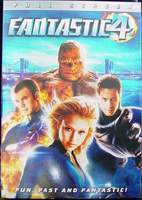Fantastic Four Full Screen Edition DVD 2005