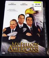 My Fellow Americans DVD Video Brand New - Sealed in Factory Shrink-Wrap - Actors: Jack Lemmon, James Garner