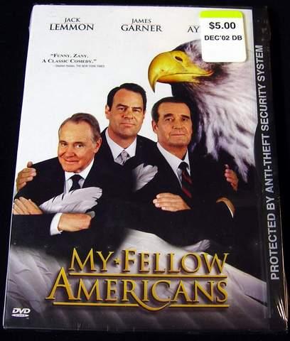 My Fellow Americans DVD Video Brand New - Sealed in Factory Shrink-Wrap - Actors: Jack Lemmon, James Garner