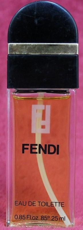 FENDI Eau de Toilette Spray in .85 fl.oz. spray bottle