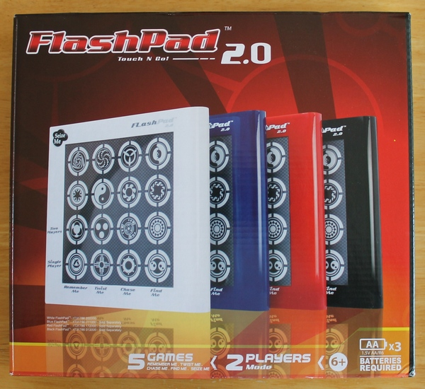 White FlashPad Touch-N-Go 2.0 Brand New in Original Box