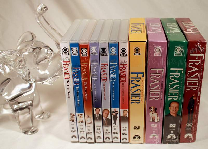 Frasier - The Complete Series (CBS DVD, 2007, Multi-Disc Set) ALL 11 SEASONS