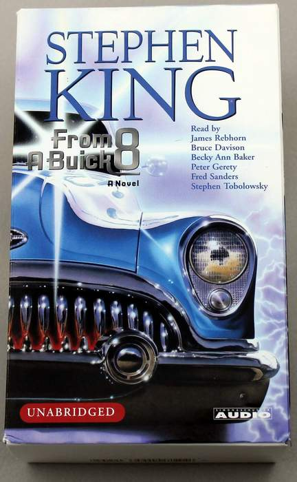 FROM A BUICK 8 by Stephen King - 10 Cassette Audiobook