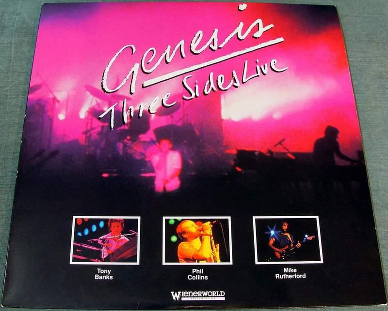 Genesis - Three Sides Live Laserdisc 72333-80002-6