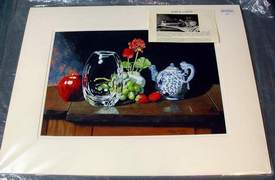 Gary D. Curtis Crystal & Fruit Giclee Reproduction Print