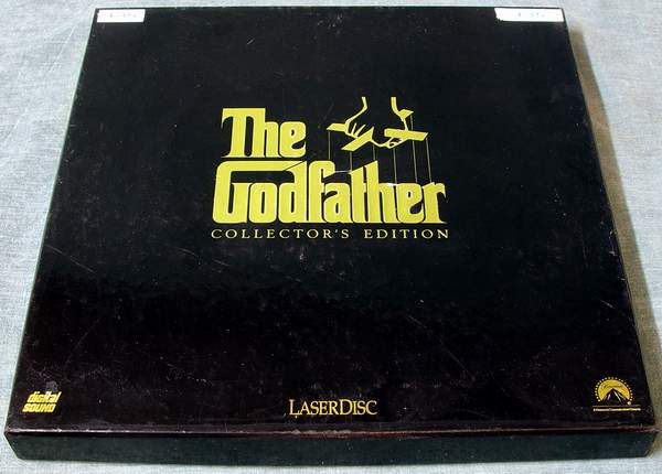 LV12959-7 The GODFATHER Movie Laserdiscs
