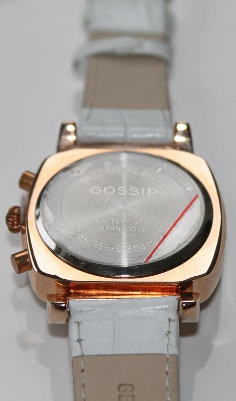 Gossip Rosetone, Multi Function, Leather Strap Watch