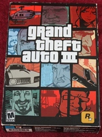 Grand Theft Auto III (PC, 2002) Computer Video Game COMPLETE