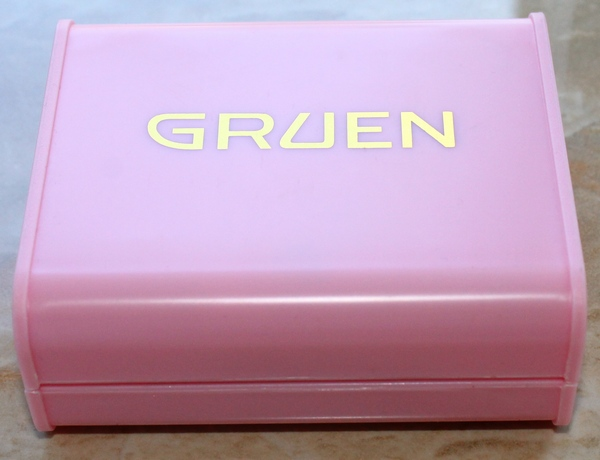 Gruen Pink Watch Box