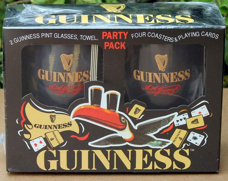 Guinness Party Pack - Brand New Sealed