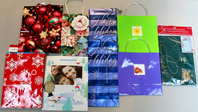 Lot of 13 assorted Hallmark Gift Bags - Sizes Vary