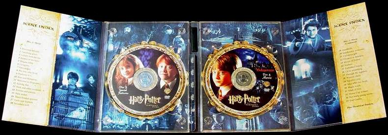 Harry Potter and the Sorcerer's Stone 2-Disc Special Widescreen Edition DVDs