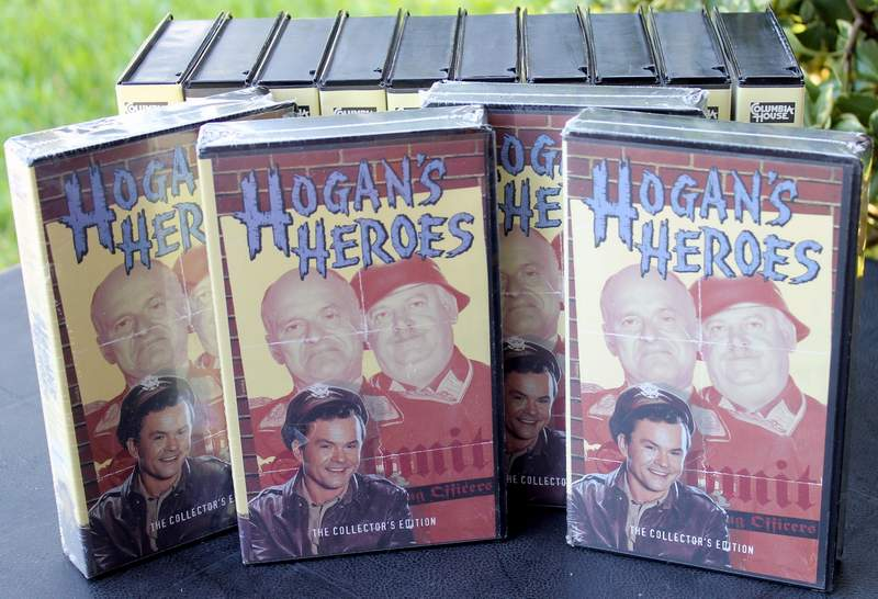 Columbia House The Collector's Edition Hogan's Heroes 14 VHS Tapes (4 are New - Sealed in Shrinkwrap)