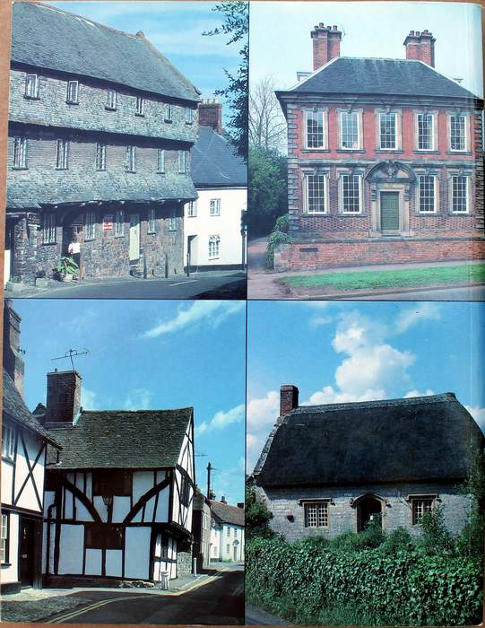 Back Cover of Houses and Cottages of Britain: Origins and Development of Traditional Buildings by R. W. Brunskill