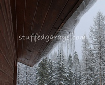 Horizontal Icicles, Seeley Lake, MT