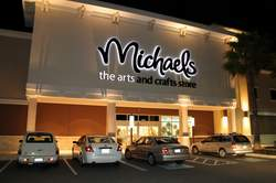 Michaels at Night in Port Orange