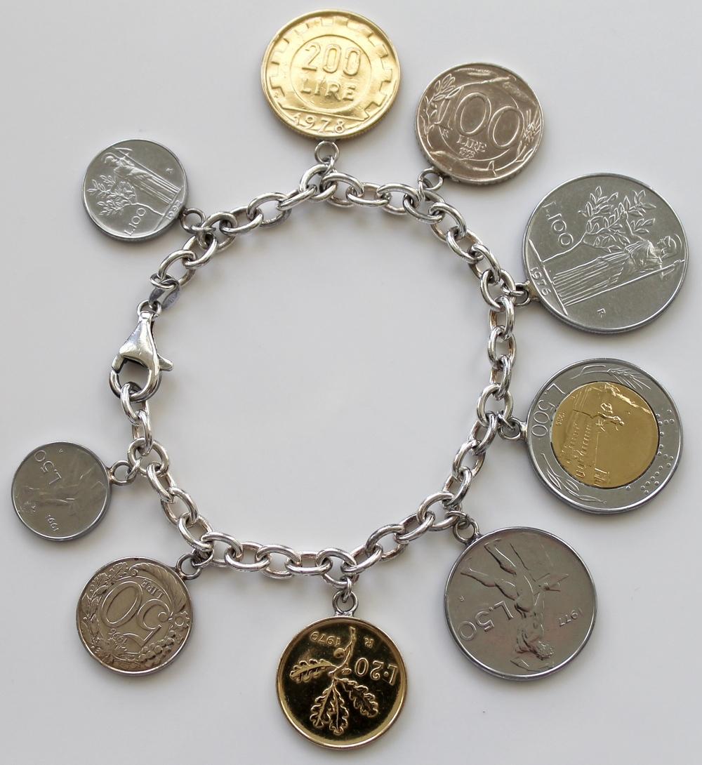Silver Coin Charm Bracelet Best Bracelets