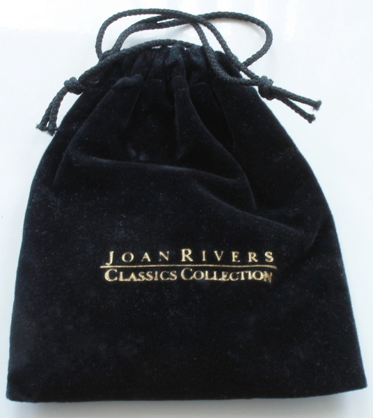 Original Joan Rivers Drawstring Pouch