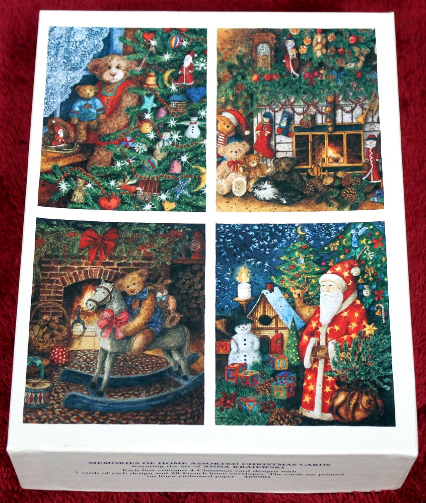 28 LANG Memories of Home Assorted Christmas Cards featuring the art ...