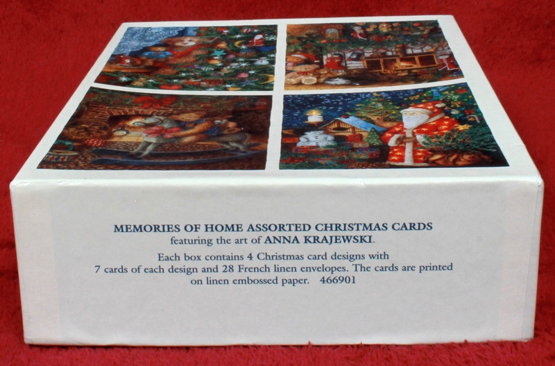 28 LANG Memories of Home Assorted Christmas Cards featuring the art of Anna Krajewski 1997