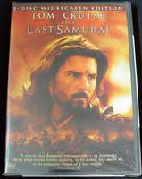 The Last Samurai 2-Disc Widescreen Edition Tom Cruise 2003 NEW SEALED