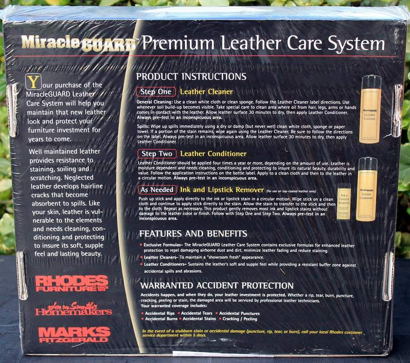 Premium Leather Care System by Miracle Guard