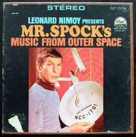 Leonard Nimoy Presents Mr. Spock's Music from Outer Space on Reel-to-Reel Tape